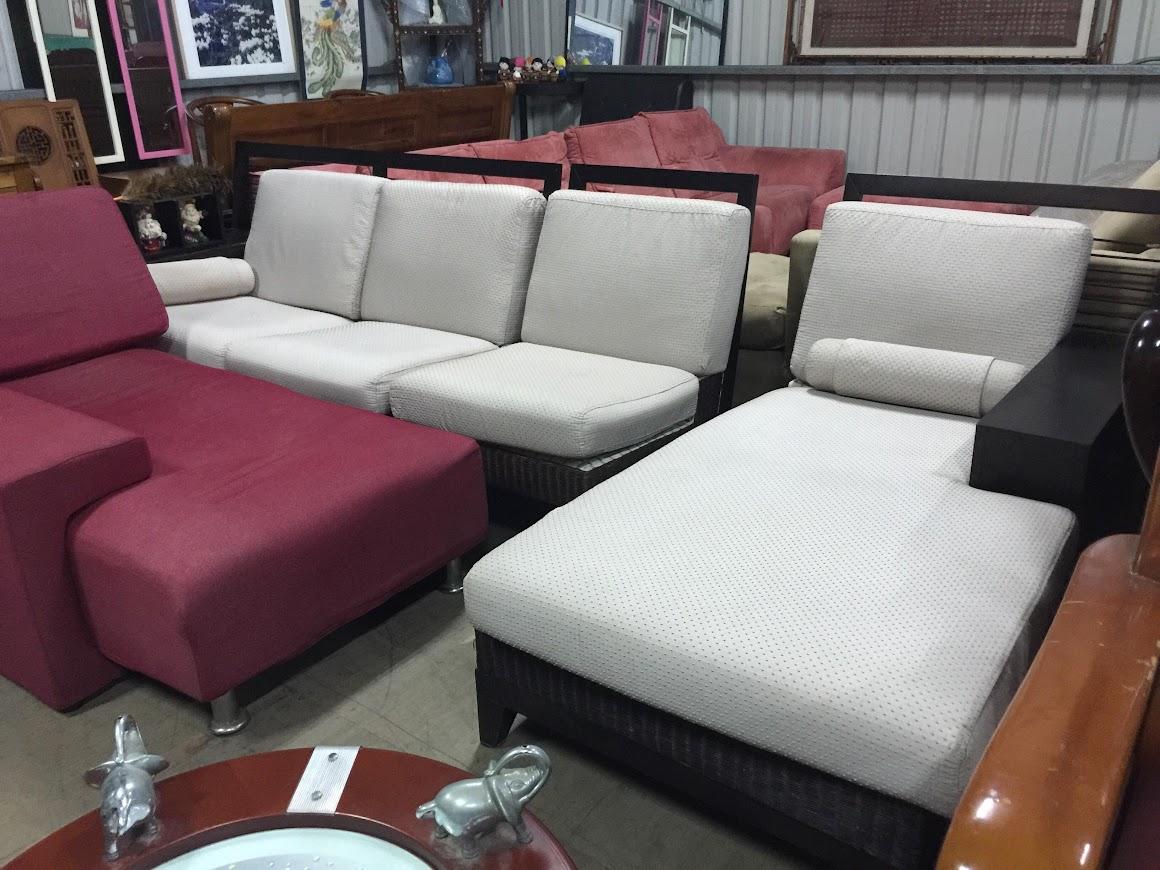 中壢二手L型沙發