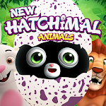 Hatchimal cute animals magic surprise eggs