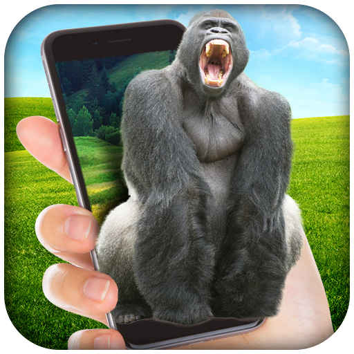 Gorilla in Phone Prank