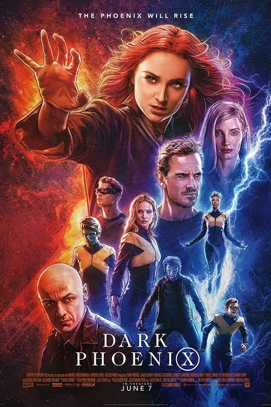 Dark Phoenix official site