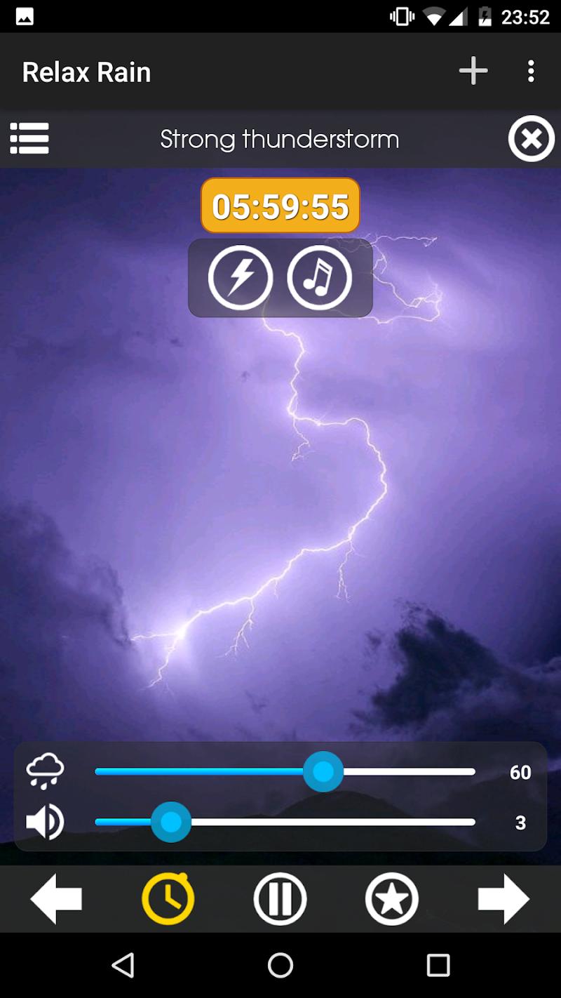 Relax Rain ~ Rain Sounds Screenshot 3