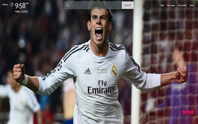 Gareth Bale Wallpapers HD Theme