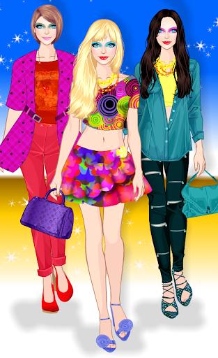 Princess Hair Salon - New Year Style android2mod screenshots 5