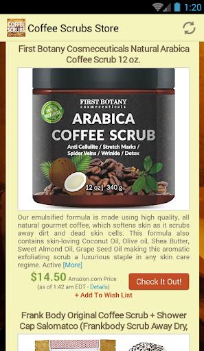 玩免費遊戲APP|下載Coffee Scrubs Store app不用錢|硬是要APP