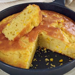Moist Buttermilk Cornbread With Cream-Style Corn.