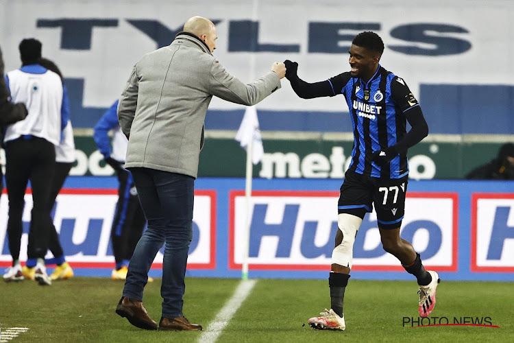 Clinton Mata sluit een vertrek bij Club Brugge niet uit