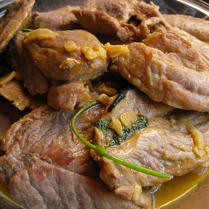 Pork Cutlets with Curry and Coriander Recipe