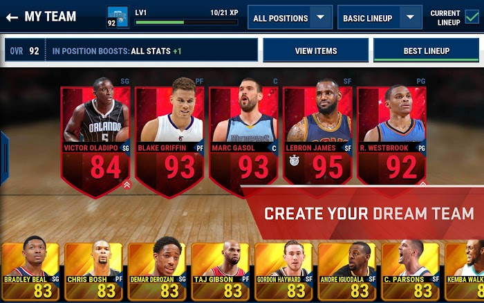 NBA LIVE Mobile- screenshot