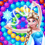 Ice Princess Bubble Icon