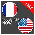 Translate French English free icon