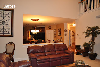 Photo: (Before) Family room Toll Brothers  Northampton, PA