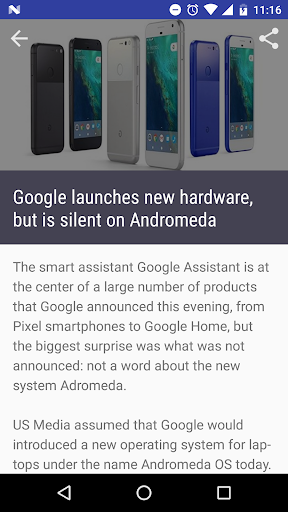 7.1 News for Android