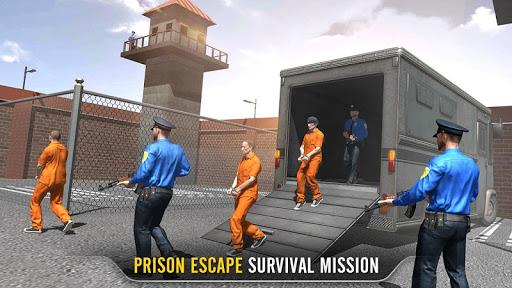 Prison Escape Survival Stealth Mission  captures d'écran 1