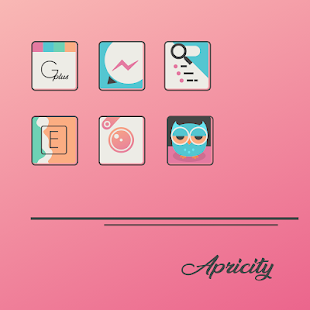 Apricity - Icon Pack Screenshot