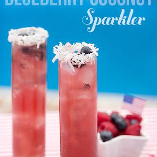 Blueberry Coconut Sparkler.