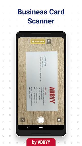 Business Card Reader - Business Card Scanner 4.25.1.2 screenshots 1