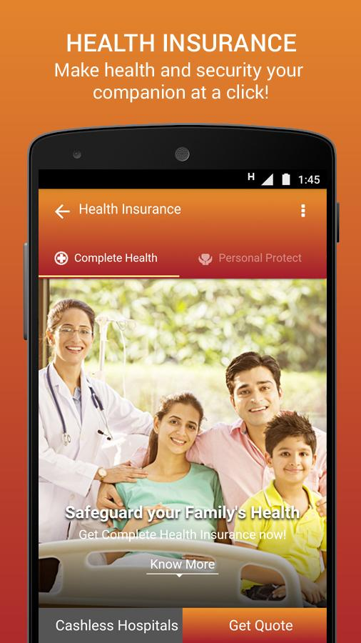 Insure – Buy General Insurance- screenshot