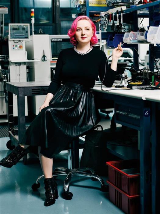 """Влиятельные женщины в 3D-печати # 26: Лимор """"LadyAda"""" Fried"""