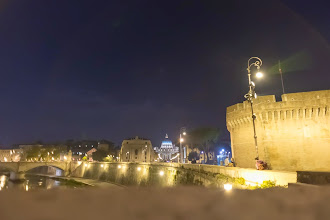 Photo: Vatican City at Night