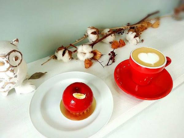蘋果好調皮跳上跳下~ Jouons Ensemble Pâtisserie 稻町森法式甜點舖