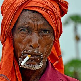 by Jit Rakshit - People Portraits of Men