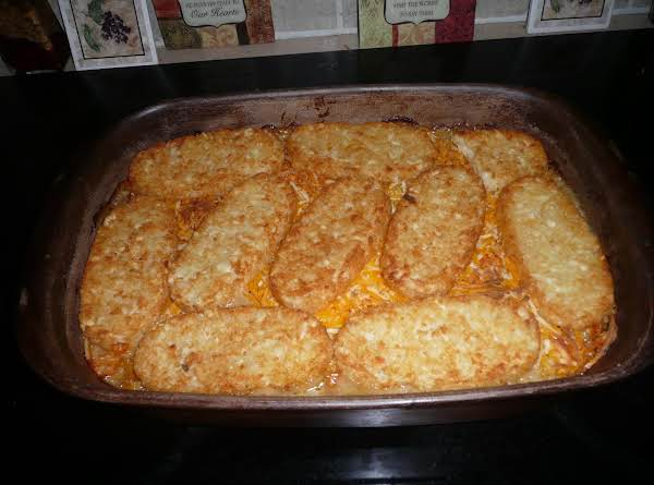 Mexican Ole' Hash Brown Casserole