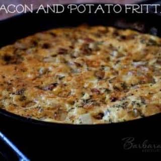 Bacon and Potato Frittata.
