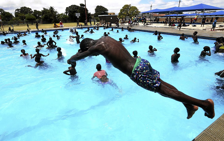 The Gugulethu swimming pool. (File photo)