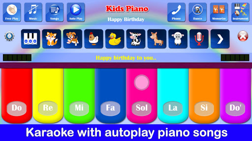 Kids Piano Free screenshots 6