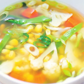 Clear Vegetable Soup Recipe