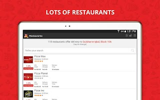 Screenshot of Supermeal.pk - Online Food