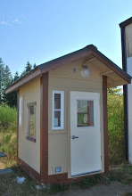 Photo: fully insulated torsion box walls, floor and ceiling make great tiny houses and portable buildings.