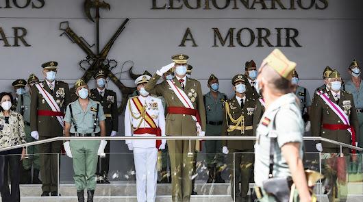 Felipe VI, en una de sus últimas visitas a Almería.