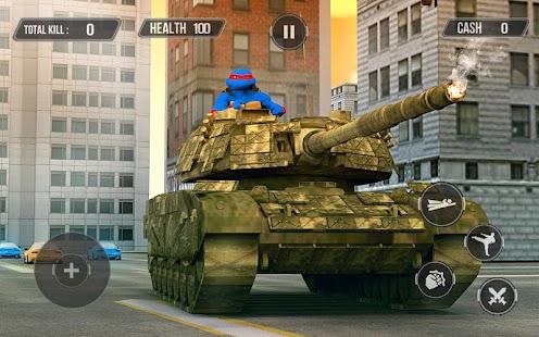 Turtle Warrior Dark Ninja: Tank Attack - náhled