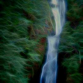 Flowing by Will McNamee - Digital Art Places ( mcnamee2169@yahoo.com, dld3us@aol.com, gigart@aol.com, danielmcnamee@comcast.net, ronmead179@comcast.net, aundiram@msn.com,  )