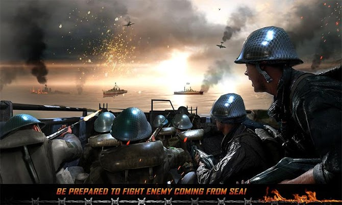 WW2 Survival War Prisoner : FPS Shooting Game Android 3