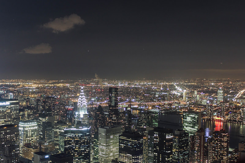 Manhattan by night di Marco Spinelli
