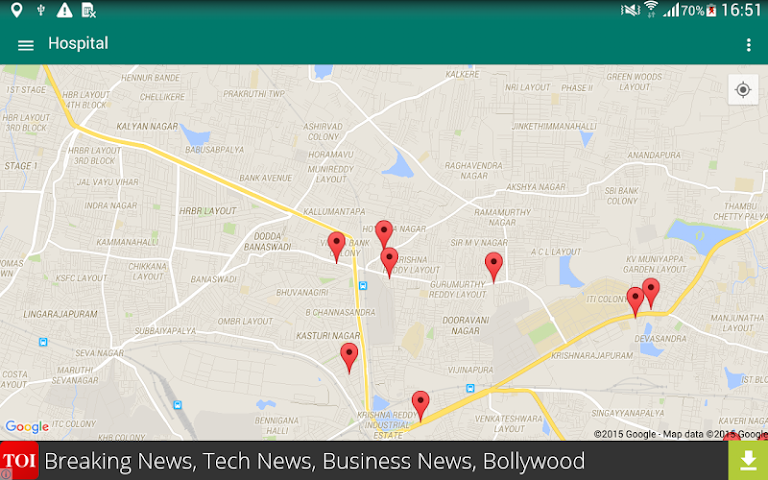 android Around Me - Places (Search) Screenshot 17