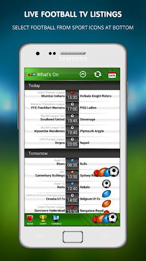 Live Football on TV 1.14 screenshots 2