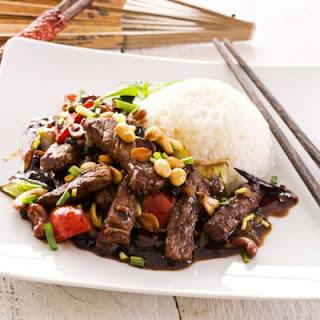 Homemade Szechuan Beef