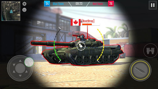 Battleship of Tanks - Tank War Game  screenshots 3