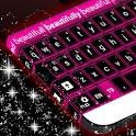 Pink Neon Teclado libre icon