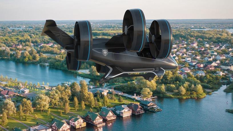 The Bell Nexus flying taxi.