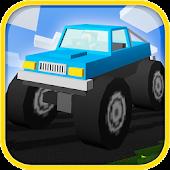 Cube World: Monster Truck Race