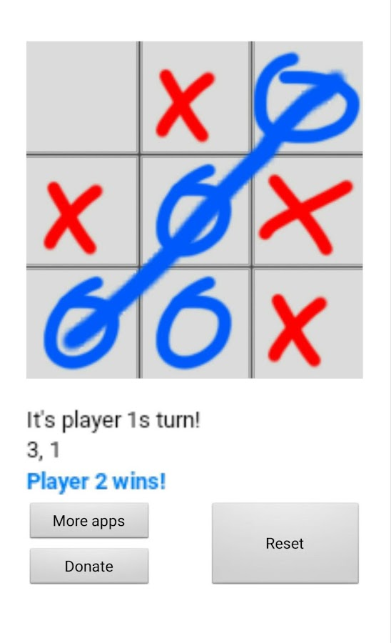 Tic Tac Toe!- screenshot