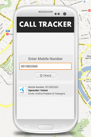 how to find mobile number android
