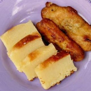Cassava Cake (Kuih Bingka Ubi).