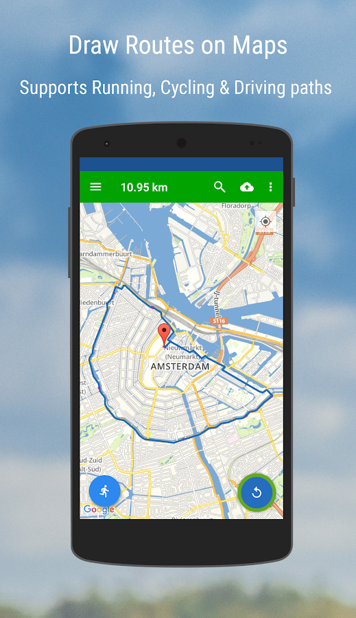 MyRoutes Route Planner- screenshot