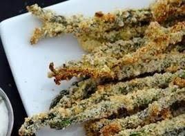 Crispy Baked Asparagus Fries image