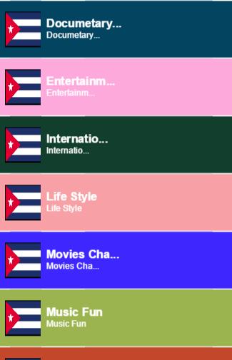Cuba TV Sat Info